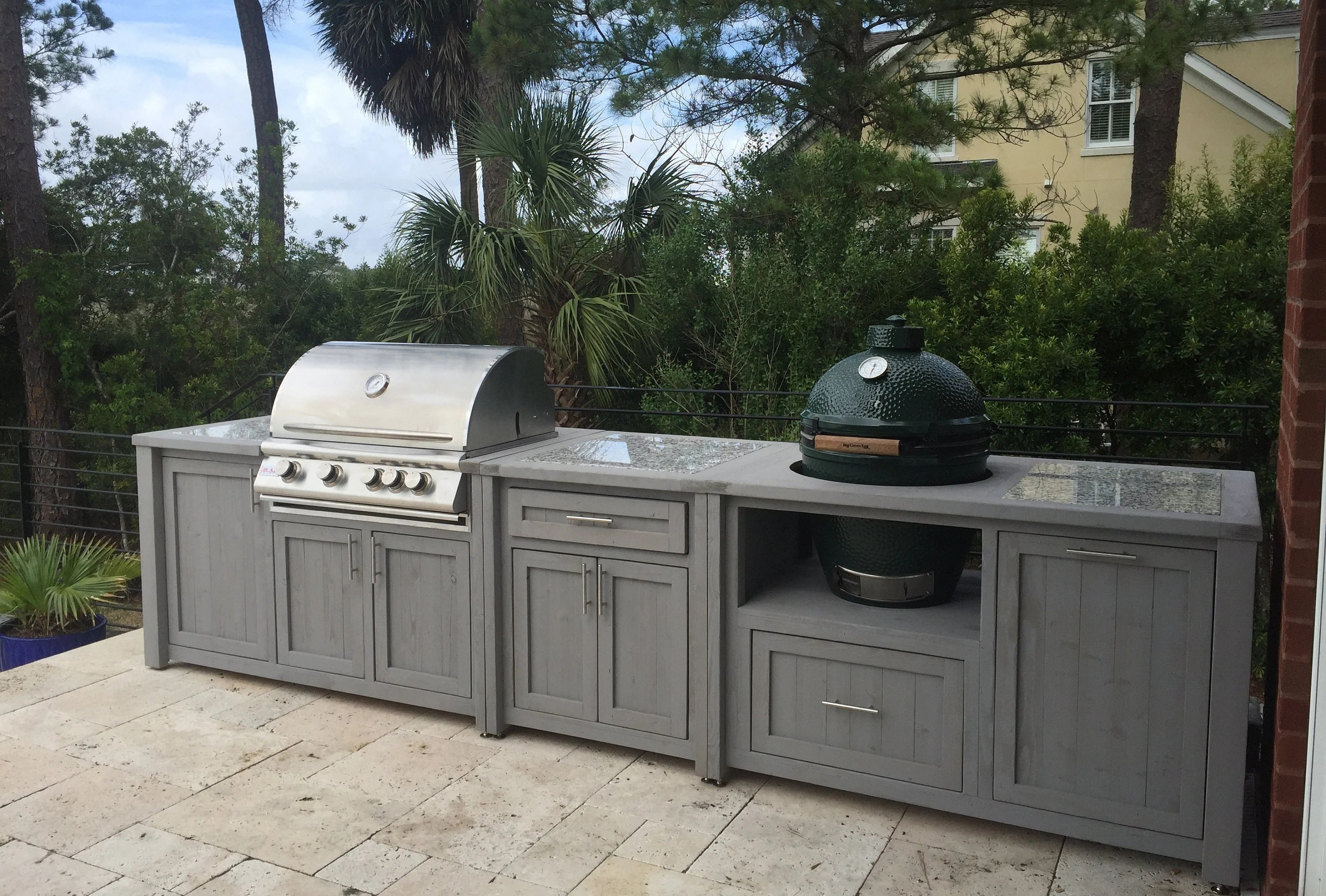 outdoor grill kitchen grill cabinet grill table and other etsy