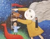 "Postcard ""Dream Interpretation"" Artist: Rita Wolff"