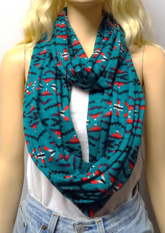 Teal Native American Tribal Print Jersey Knit T Ideas