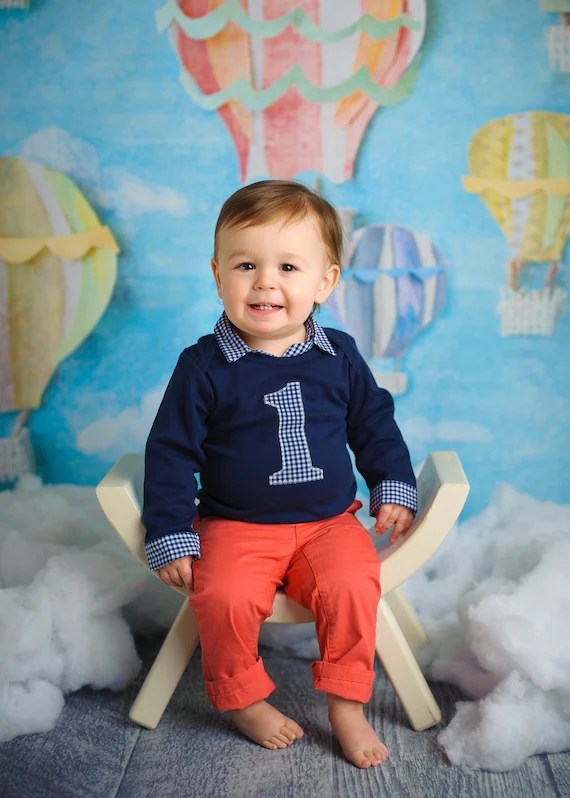 First Birthday Outfit For Boys Baby Boy First Birthday Etsy