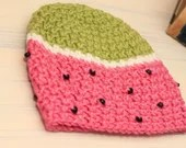 Baby Girl 6-12 Months Watermelon Beanie