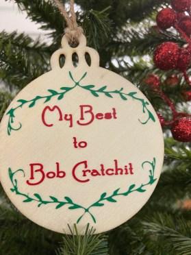 Schitts Creek Christmas Ornament Bob Cratchit image 0