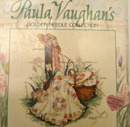 Pink ribbon paula Vaughan's counted cross stitch kit | Etsy