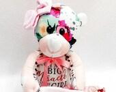 SMALL Memory Bear, keepsake bear, plush bear, newborn gift, bereavement gift, memory bear, memory bear
