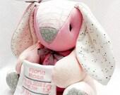 PREEMIE Memory Bunny, custom memory bunny, horse, clothing bunny, baby gift, personalized bunny, bereavement gift, micro preemie