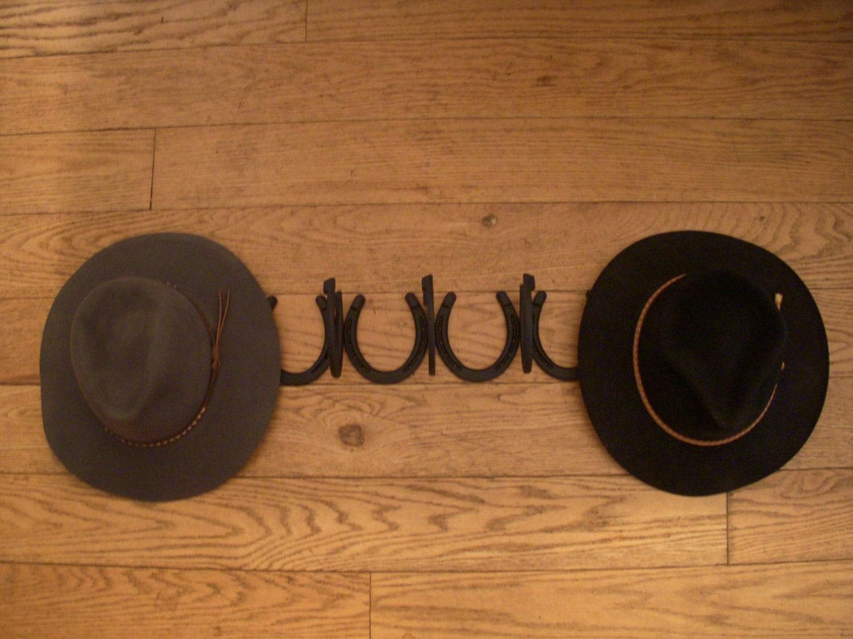 cowboy hat combo horseshoe coat