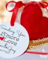 12 Smores Wedding Favors Candy Valentines Day Heart Smores Etsy