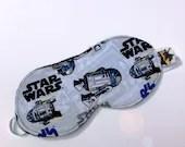 Star Wars R2D2 Sleep Mask,  Star Wars Sleep Mask, Star Wars Eye Mask