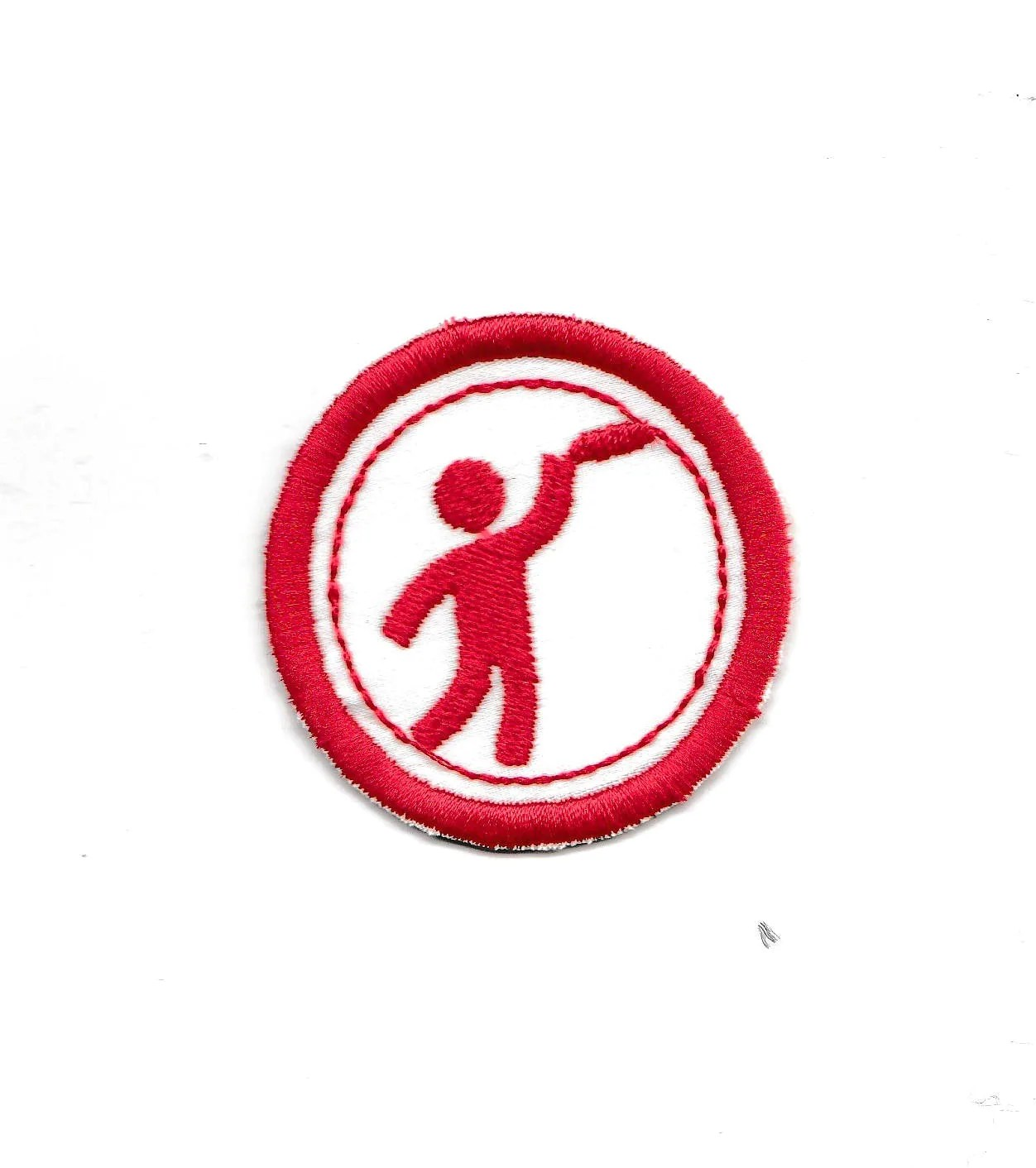 2 Frisbee Golf Merit Badge Patch Any Color Combo