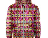 Flying Rainbow Lasagne Men's Hoodie