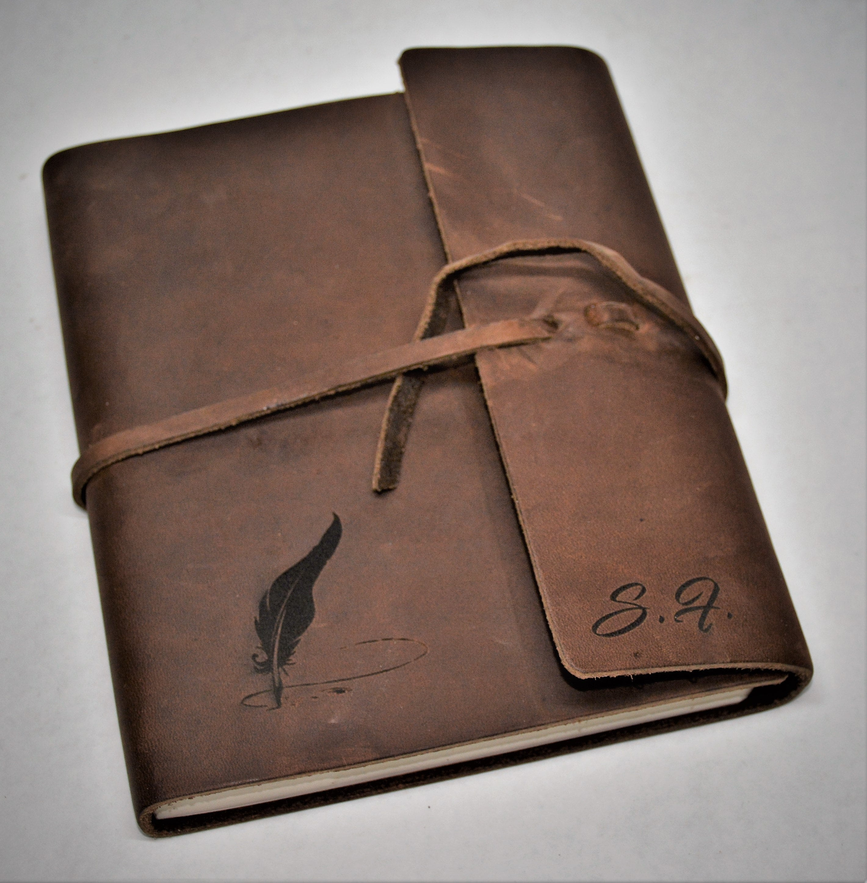 Premium Leather Journal Personalized Custom Engraved image 2