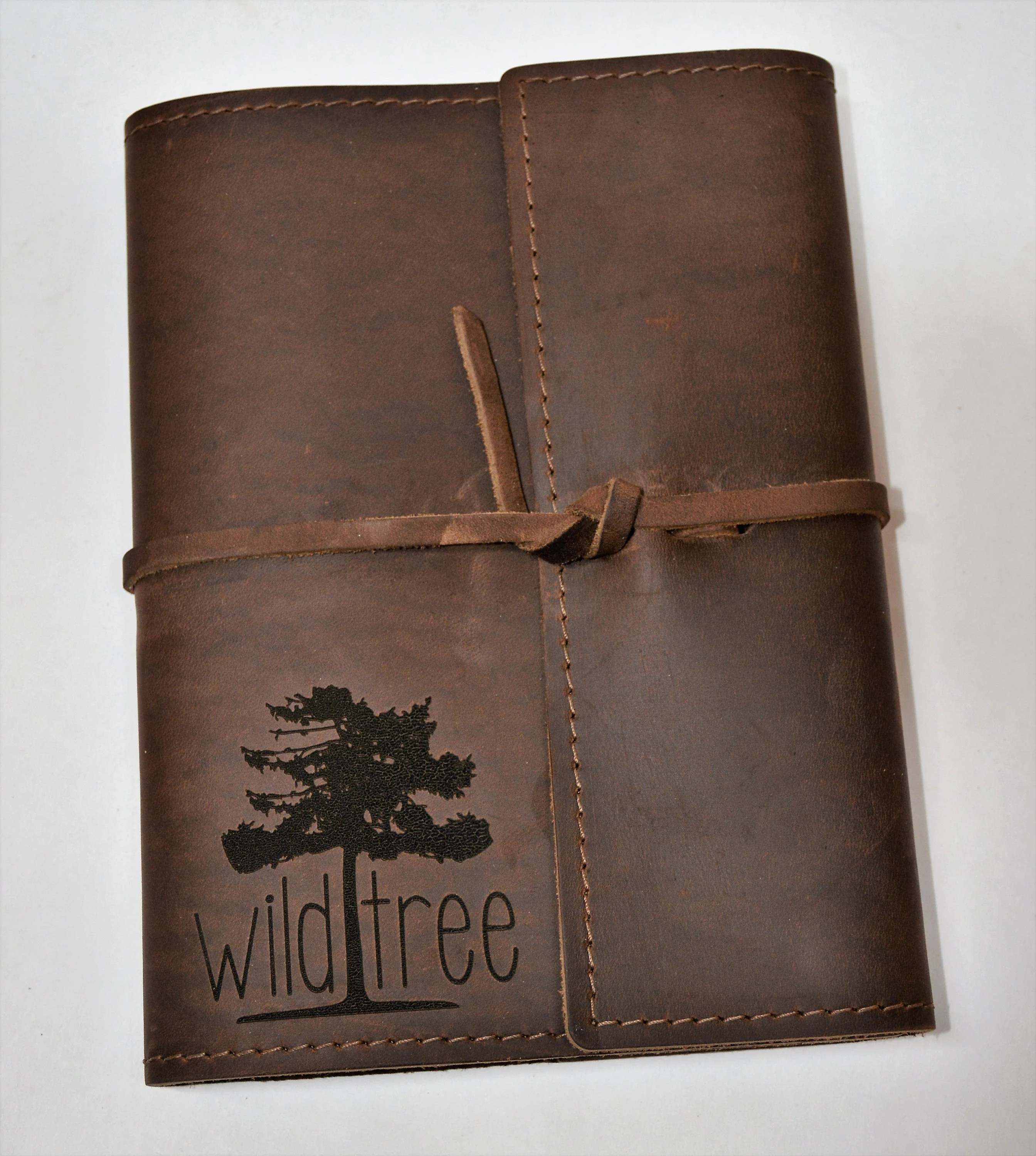 Refillable Writer's Log large Journal Leather Journal image 7