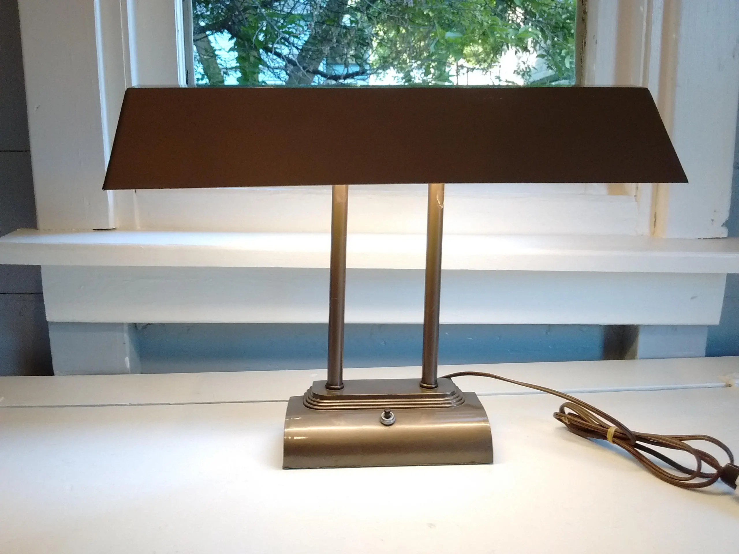 Vintage Industrial Drafting Table Lamp Desk Lamp Art Deco