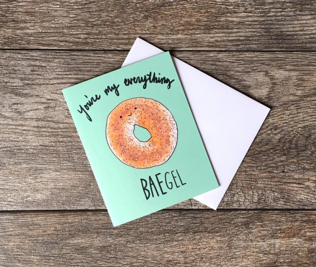 Youre My Everything Baegel Greeting Card