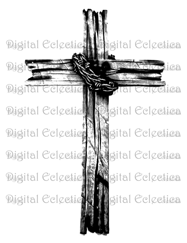 Old Rugged Cross Transparent Image Cross Christian