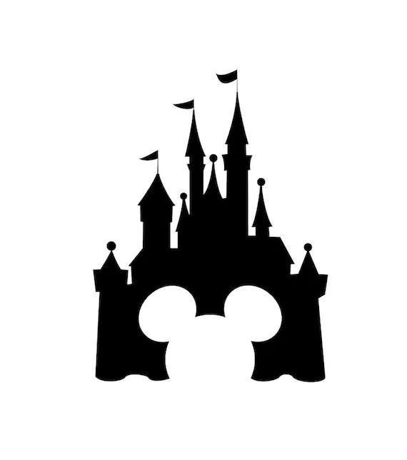 Disney Castle Disney Magic Band Decal Disney Decal Disney Etsy