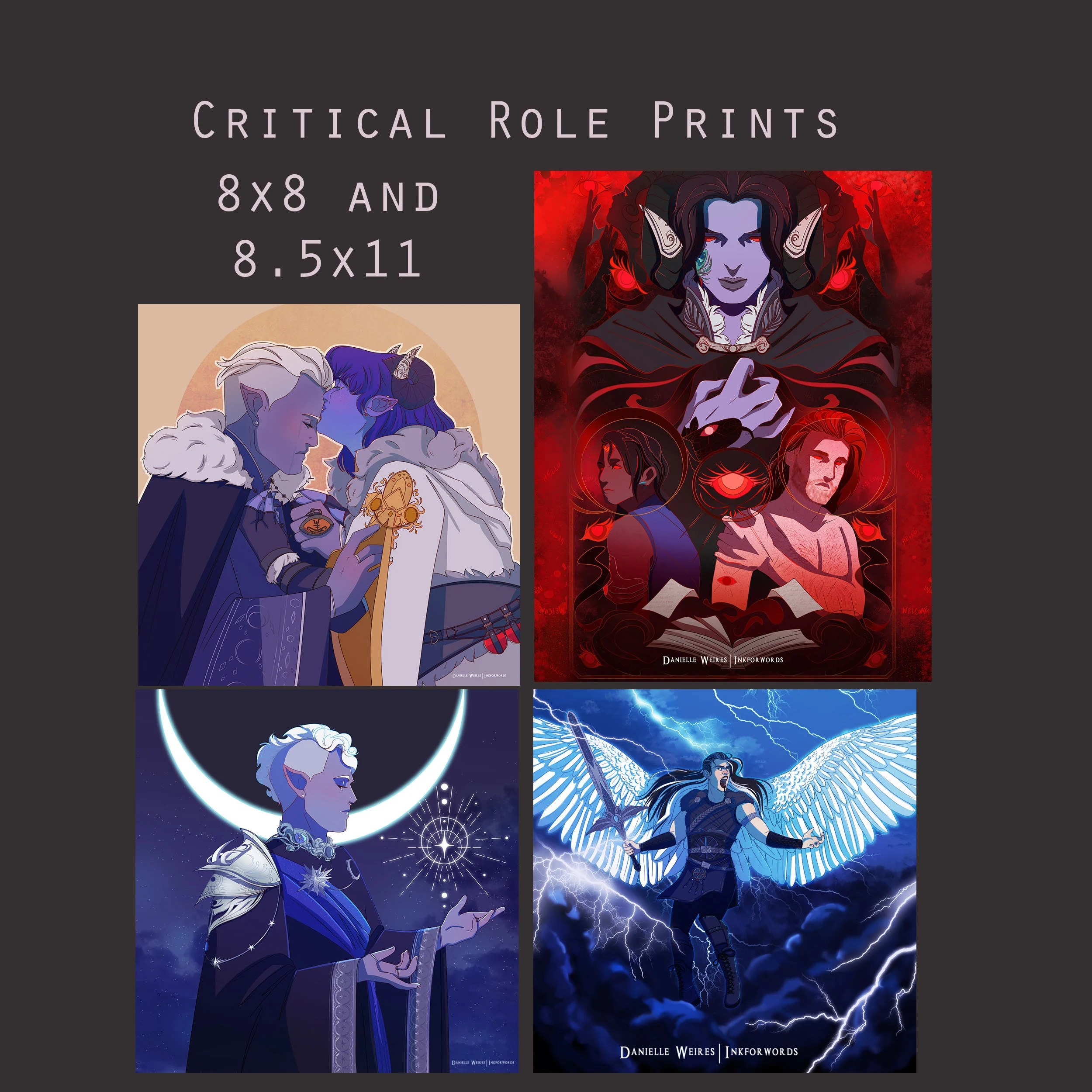 critical role poster etsy