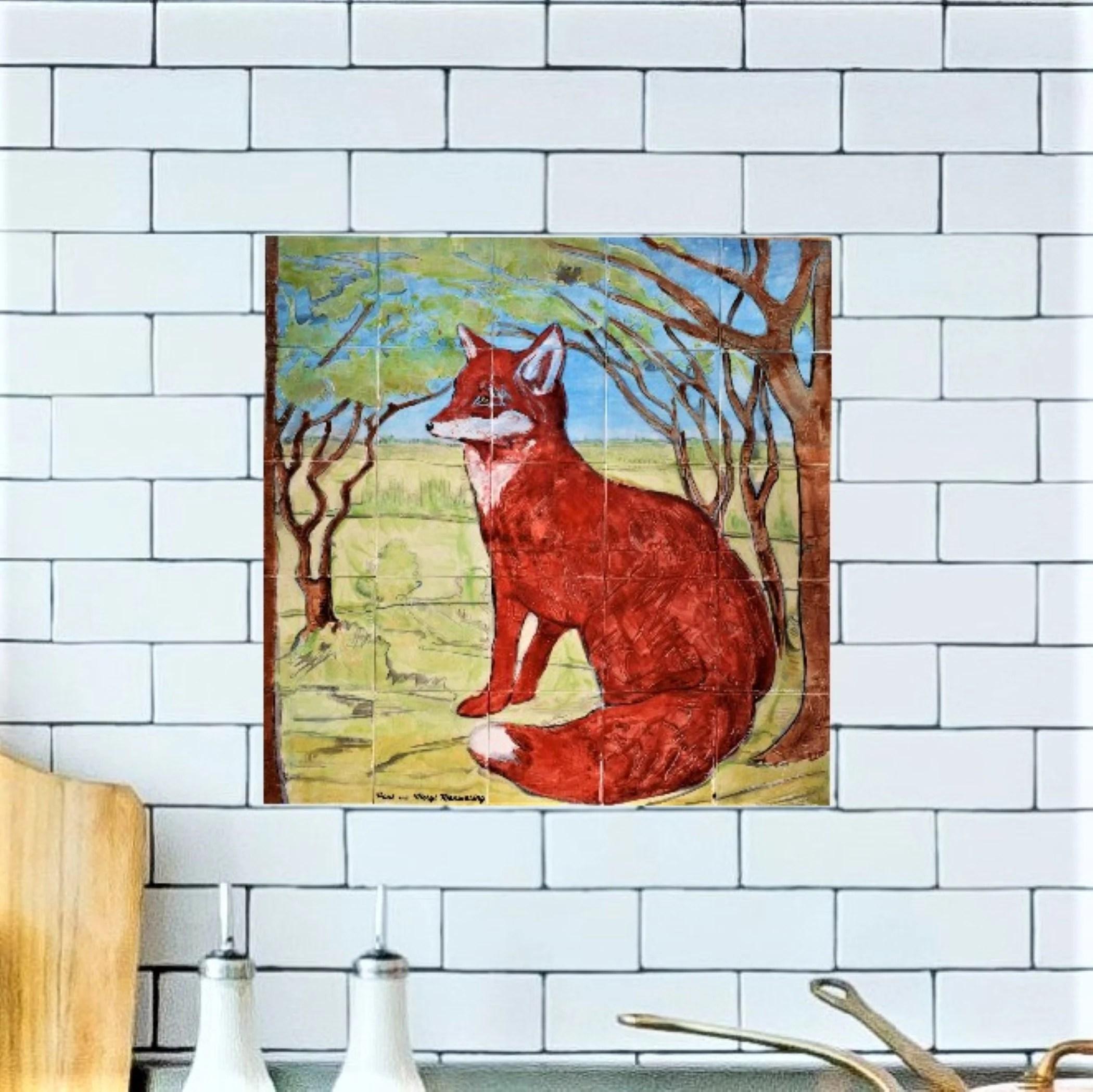 kitchen backsplash fox custom tile