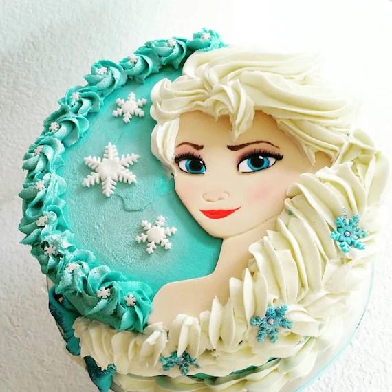 Elsa Cake Topper Frozen