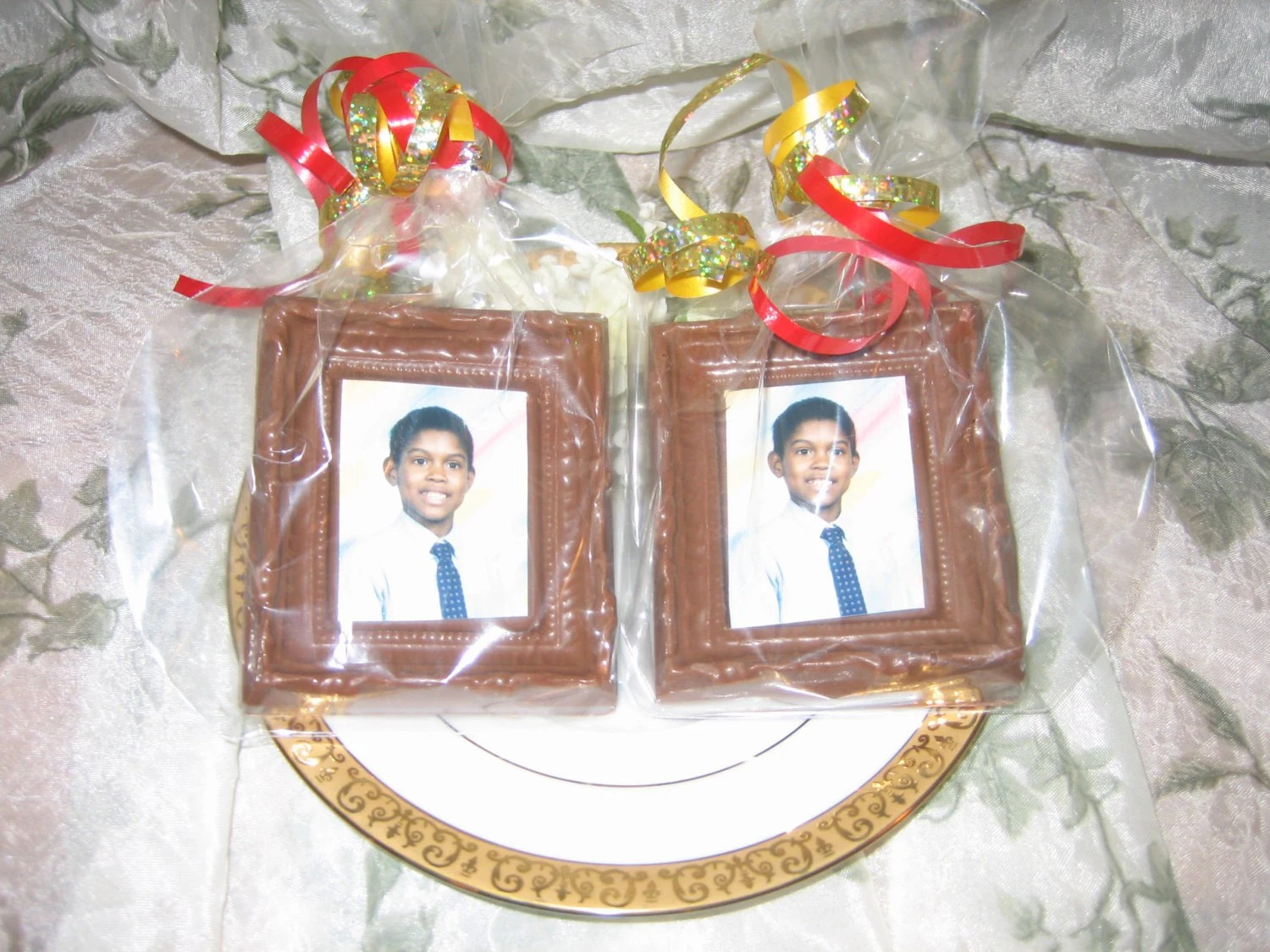 Chocolate Picture Frame Party Favors Birthday Etsy
