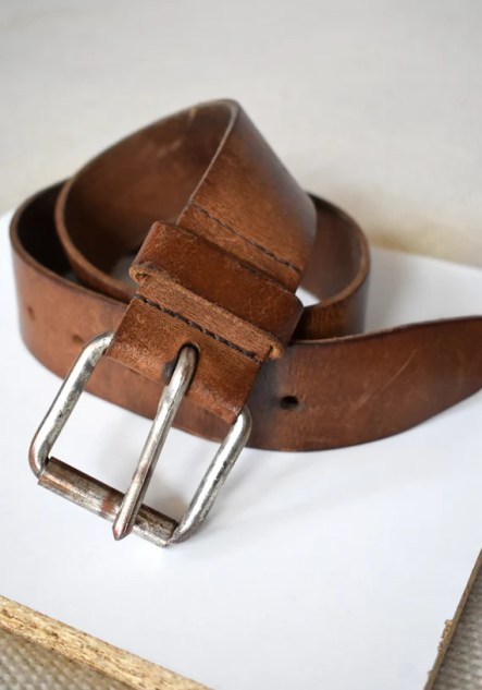 Image result for chunky brown belt