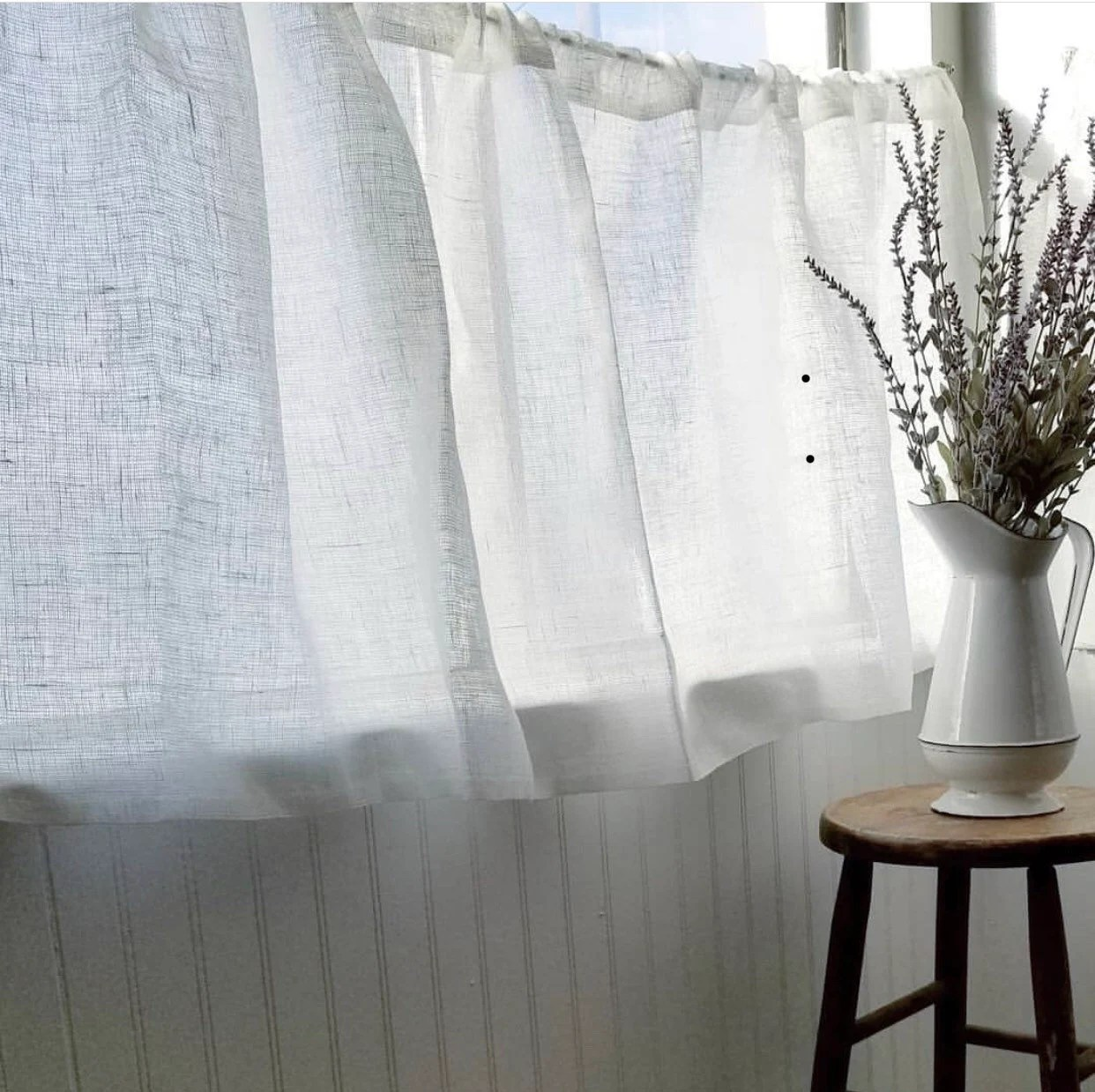 cafe curtains etsy