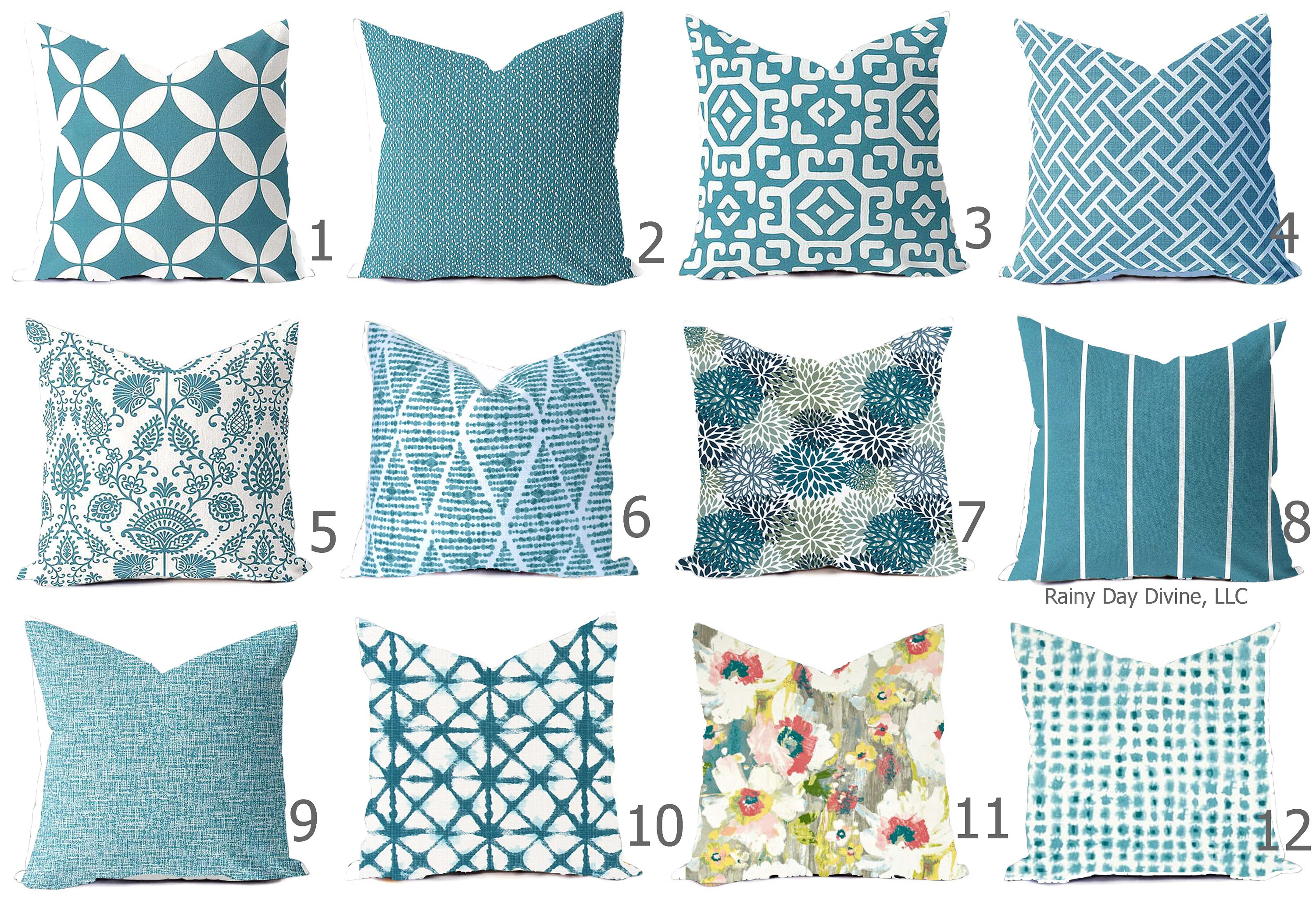 outdoor pillows or indoor custom cover
