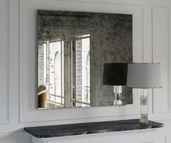 Antique Mirror. Large Wall Mirror. Decorative Wall Mirror