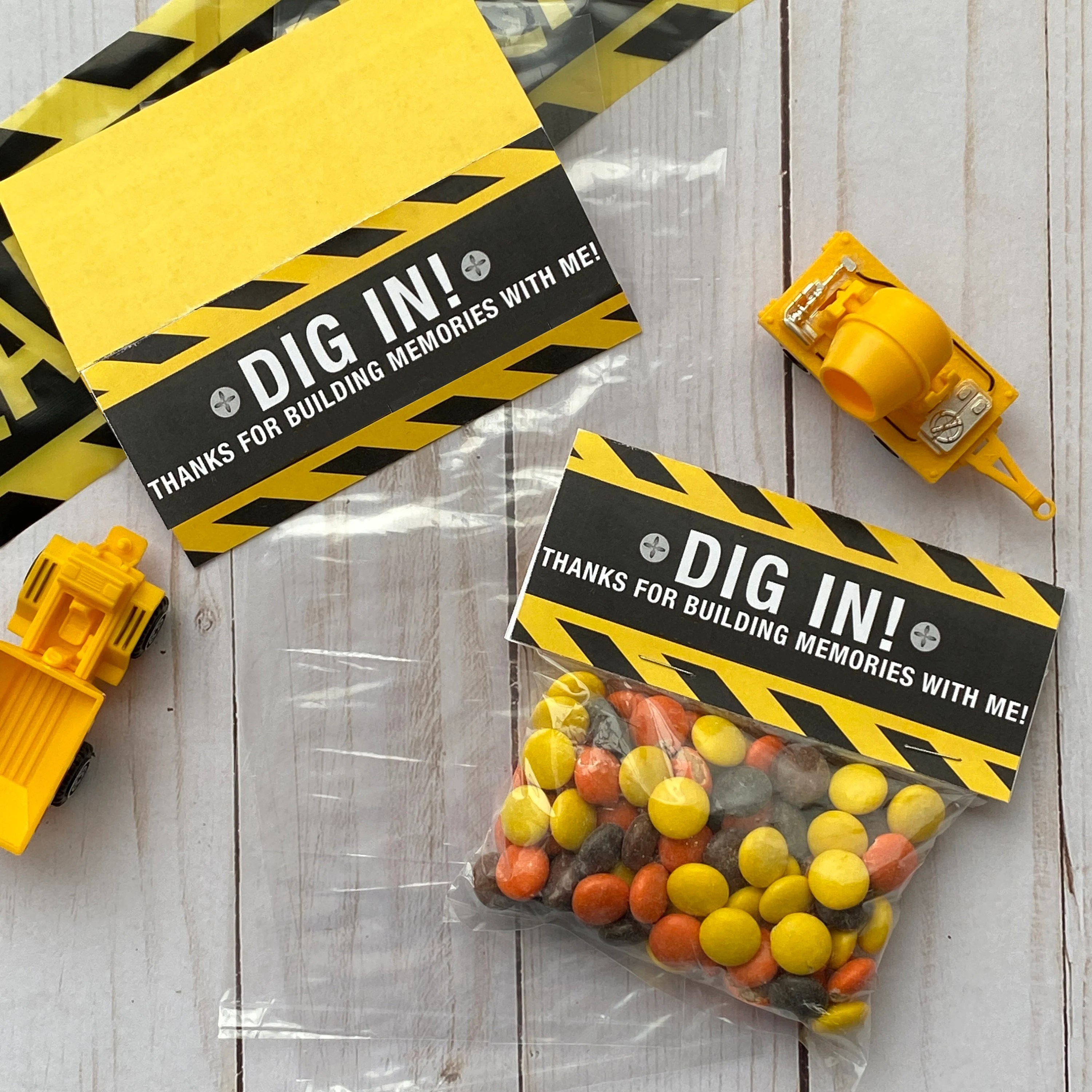 Construction Party Favors Etsy