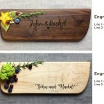 Cutting Boards Handmade Products Walnut Personalized Cutting Board Custom Cutting Board Wedding Gift Engraved Cutting Board Bridal Shower Gift