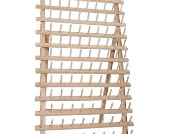 thread spool rack etsy