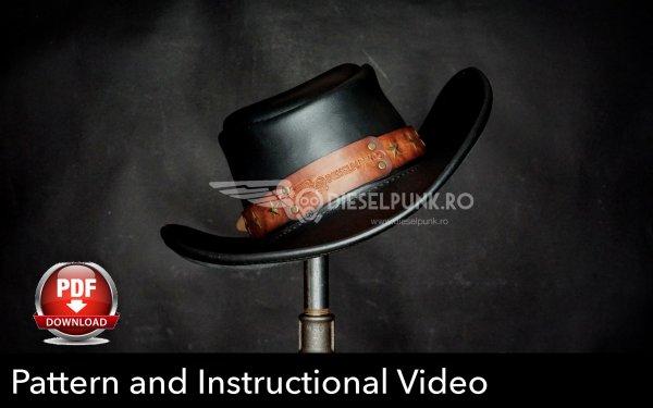 cowboy hat pattern # 46