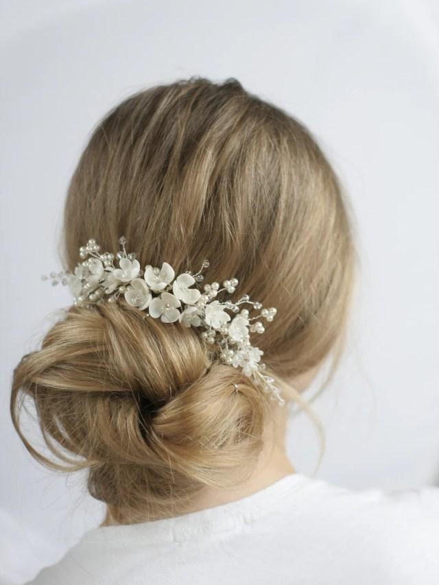 blossom wedding headpiece wedding hair comb bridal hair comb bridal hair flower wedding hair accessories bridal hair accessories