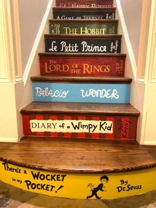 Book Spine Stair Decals  Books Stairs  Premium Version image 0