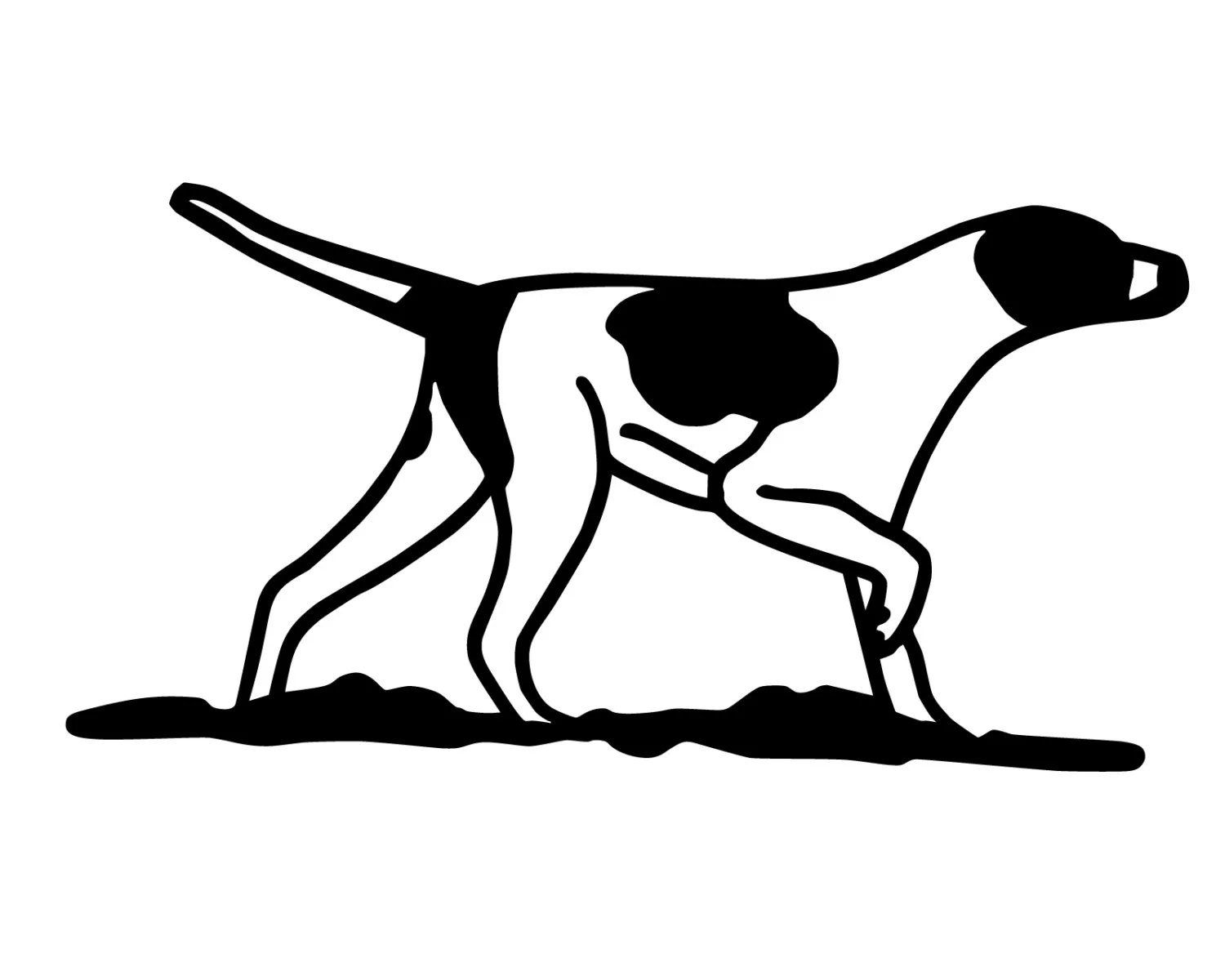 Hunting Dog Decal Geese Hunting Sticker Retriever Lab