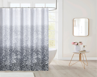 paisley shower curtain etsy