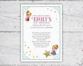 Magical Fairy Birthday Party Invitation | Fairy Garden Party | Girl's Party Ideas | Printable Digital Download | Girl's Birthday Invitation