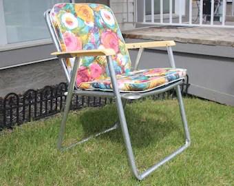 retro lawn chairs etsy
