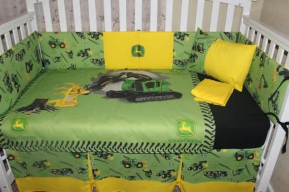 5 Piece Crib Bedding Set by DeltaAnnsCreations