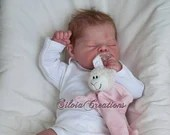 FREE Baby w/ Diamond Package - Custom Reborn Babies - Martha Grace by Adrie Stoete 19 inches Full Limbs + Torso 4-6 lbs. .