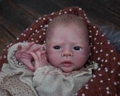 """CUSTOM ORDER/Made To Order Reborn Doll Baby Girl or boy Limited Edition Kailyn by Petra Lechner 18"""" 3/4 Limbs (Reborn Babies)"""