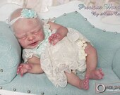 CUSTOM MADE Reborn Doll Baby Girl or boy Emmelie by Ulrike Gall  18 inches  4-6 lbs  3/4 arms 3/4 legs (Reborn Babies)