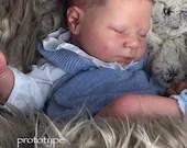 Reborn Babies - Custom Reborn Baby - Luciano by Cassie Brace 20 Inches 5-7 lbs  Custom .Custom Reborn Baby Doll. Vinyl.