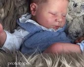 Custom Reborn Babies - Luciano by Cassie Brace 20 Inches 5-7 lbs