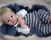 FREE Baby w/ Diamond Package - Custom Reborn Babies - ZaZa By Adrie Stoete 20 inches  4-6  lbs Full Limbs