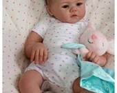 Custom Reborn Babies - Harlow By Sandy Faber 21 inches 3/4 limbs 5-7 lbs .