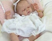 Custom Reborn Babies - Adelynn By Emily Jameson 17 inches 3/4 Arms Full Legs  4-6 lbs