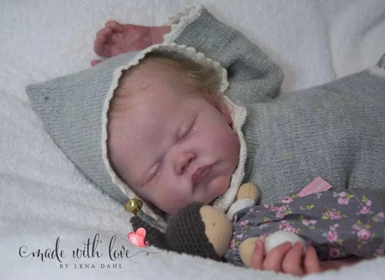 Reborn Babies - Custom Reborn Baby - Starling by AK Kitagawa Full Limbs 23 Inches 5-7 lbs  Custom .Custom Reborn Baby Doll. Vinyl.
