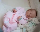 FREE Baby w/ Diamond Package - Custom Reborn Babies - Realborn®  Priscilla Full Limbs 18 Inches 4-6 lbs