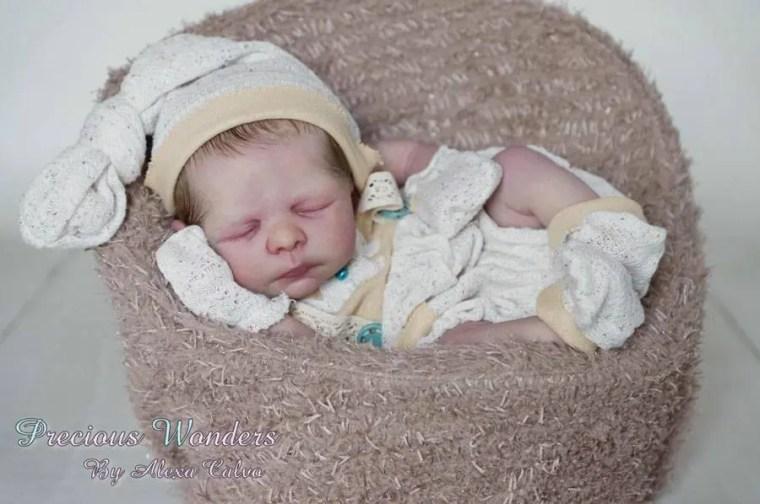 Reborn Babies - Custom Reborn Baby - Bryson by Jade Warner 19 inches Full Limbs  Custom Reborn Baby.Custom Reborn Baby Doll. Vinyl.